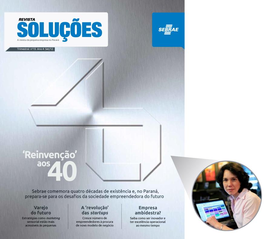 Imagem Revista Soluções Sebrae Edição 15