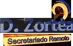Imagem Logo 3D D. Zortéa, secretária remota
